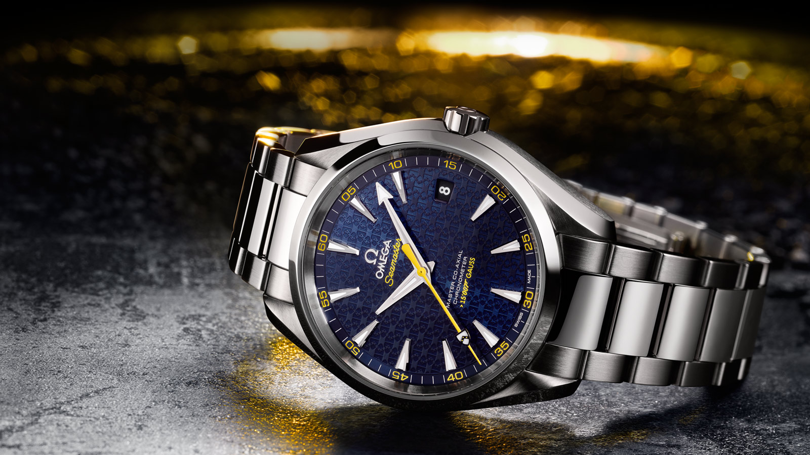 OMEGA SEAMASTER AQUATERRA MASTER CO-AXIAL JAMES BOND EDICION LIMITADA