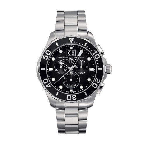 TAG Heuer Aquaracer Grande Date Black Dial Chronograph