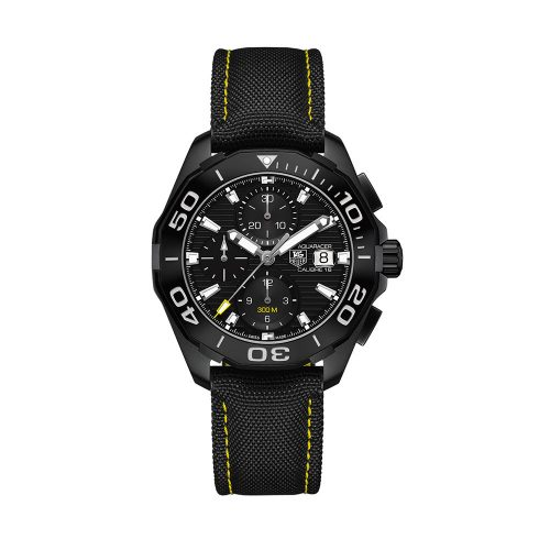 TAG Heuer Aquaracer 300M Chronograph Black Version