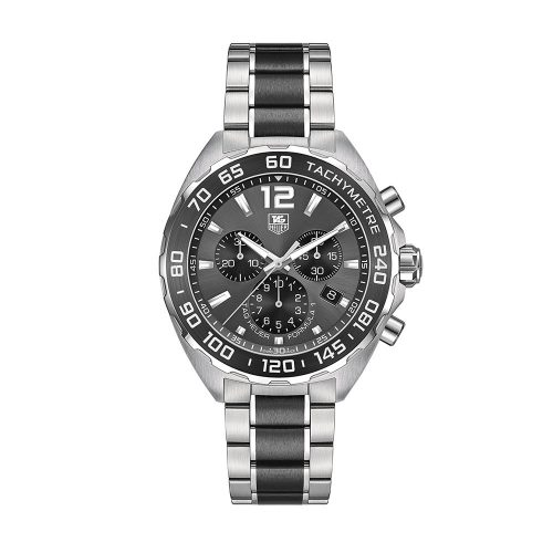 TAG Heuer Formula 1 Grey Dial Stainless Steel And Black Ceramic