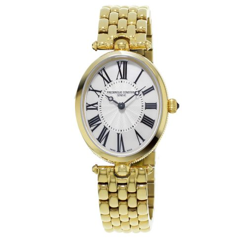 Art Deco Oval Mop Dial With Roman Numerals