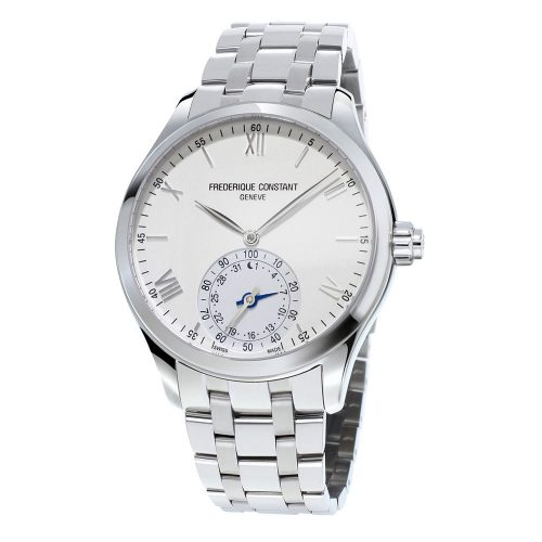 Hsw Quartz 4 Hands Ss Case Silver