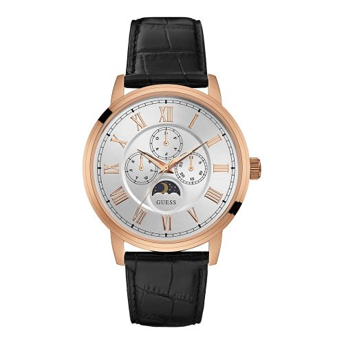 Reloj Guess Delancy Mens Rose Gold/Brown W0870G2