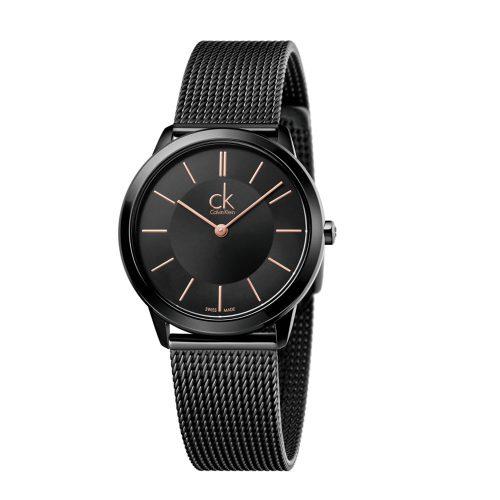 Reloj Calvin Klein Minimal Po Mz Pvdblk Po Mesh Blk/5N K3M22421