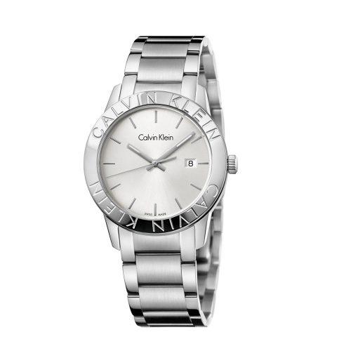 Reloj Calvin Klein Steady Po Gt Sst Po/Br B-Let Sil Di K7Q21146