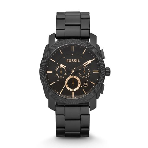 Reloj Fossil Machine Chronograph Dark Brown Dial FS4682