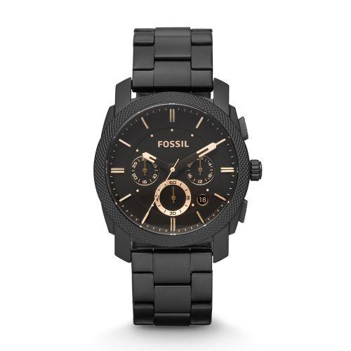Reloj Fossil Machine Chronograph Dark Brown Dial FS4682