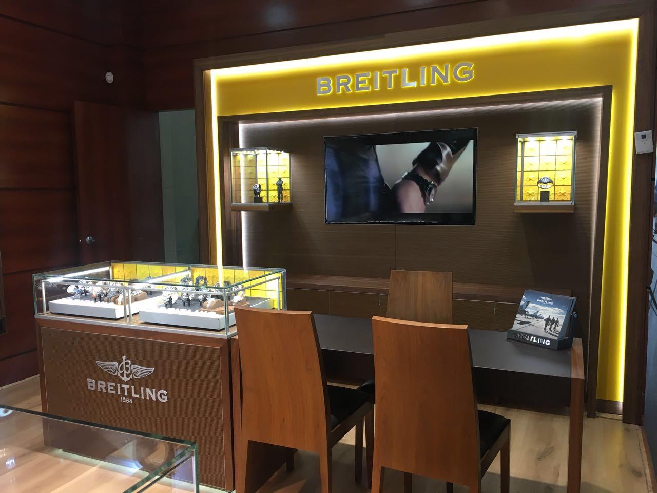 Nuevo Corner Breitling