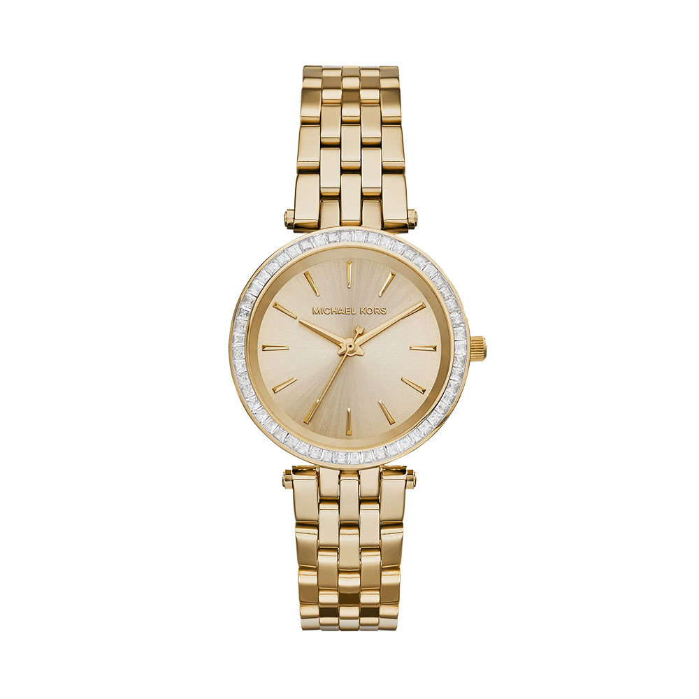 compre los más vendidos la venta de zapatos atractivo y duradero Reloj Michael Kors Mini Darci Gold Tone Stainless Steel MK3365