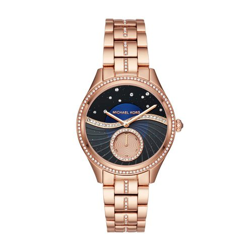 Reloj Michael Kors Lauryn Rose Gold-Tone Three-Hand MK3723