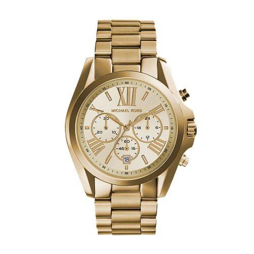 Reloj Michael Kors Bradshaw Chronograph Champagne Dial MK5605