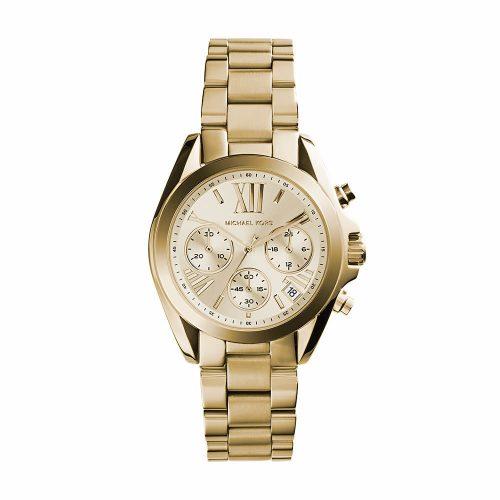 Reloj Michael Kors Bradshaw Chronograph Champagne Dial Gold-Tone MK5798