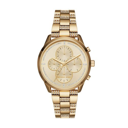 Reloj Michael Kors Slater Gold-Tone Chronograph MK6519