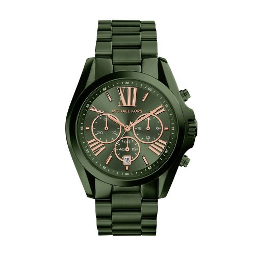 Reloj Michael Kors Bradshaw Olive Ip Chronograph MK6528