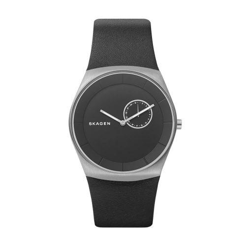 Reloj Skagen Havene Black Dial Men'S Leather SKW6414