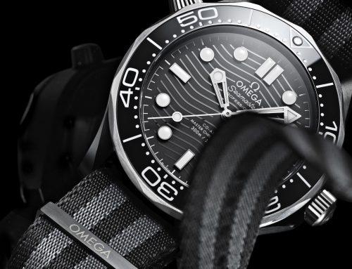 """OMEGA Seamaster Diver 300M """"En cerámica y titanio"""""""