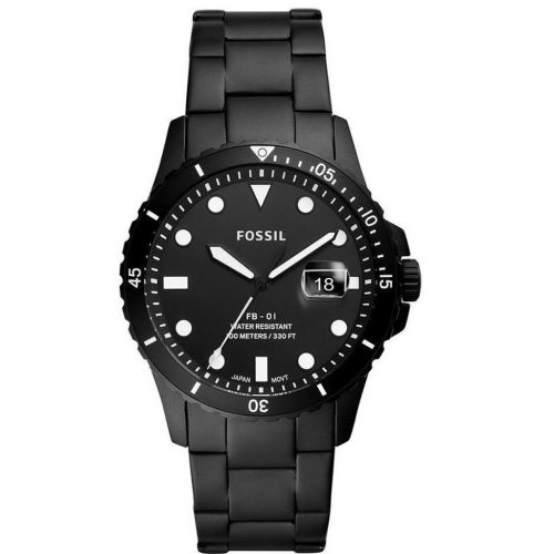 FB-01 THREE HAND DATE black black