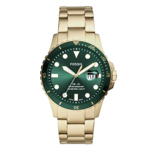 FB-01 THREE HAND DATE green yellow