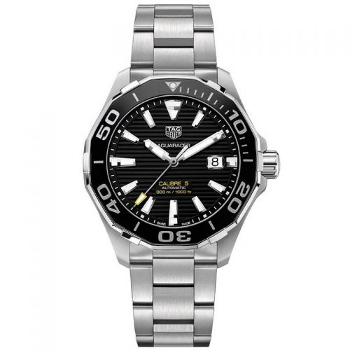 AQUARACER WAY201A.BA0927 black silver