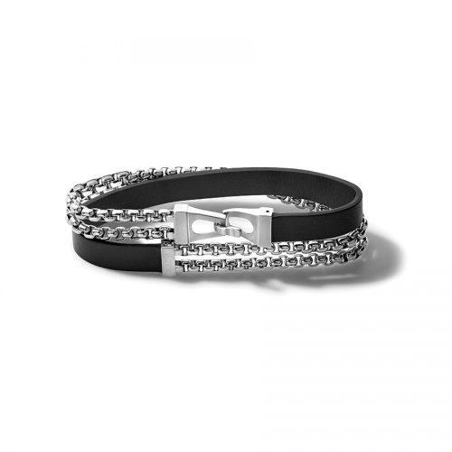 CLASSIC (TALLA M) J96B015M silver black